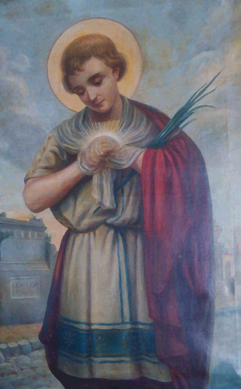 San Tarsicio krouillong comunion en la mano sacrilegio