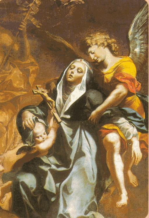 Santa Brígida de Suecia krouillong comunion en la mano sacrilegio