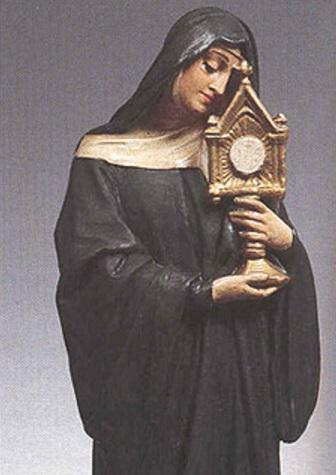 Santa Juliana de Mont Cornillon krouillong comunion en la mano sacrilegio