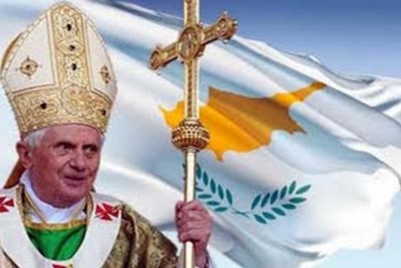benedicto XVI chipre enciclicas oraciones exhortaciones apostolicas krouillong sacrilegio comunion en la mano 28