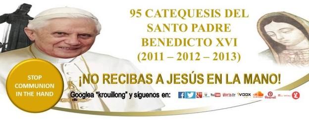 Catequesis del Santo Padre Benedicto XVI | Blog de Karla Rouillon ...