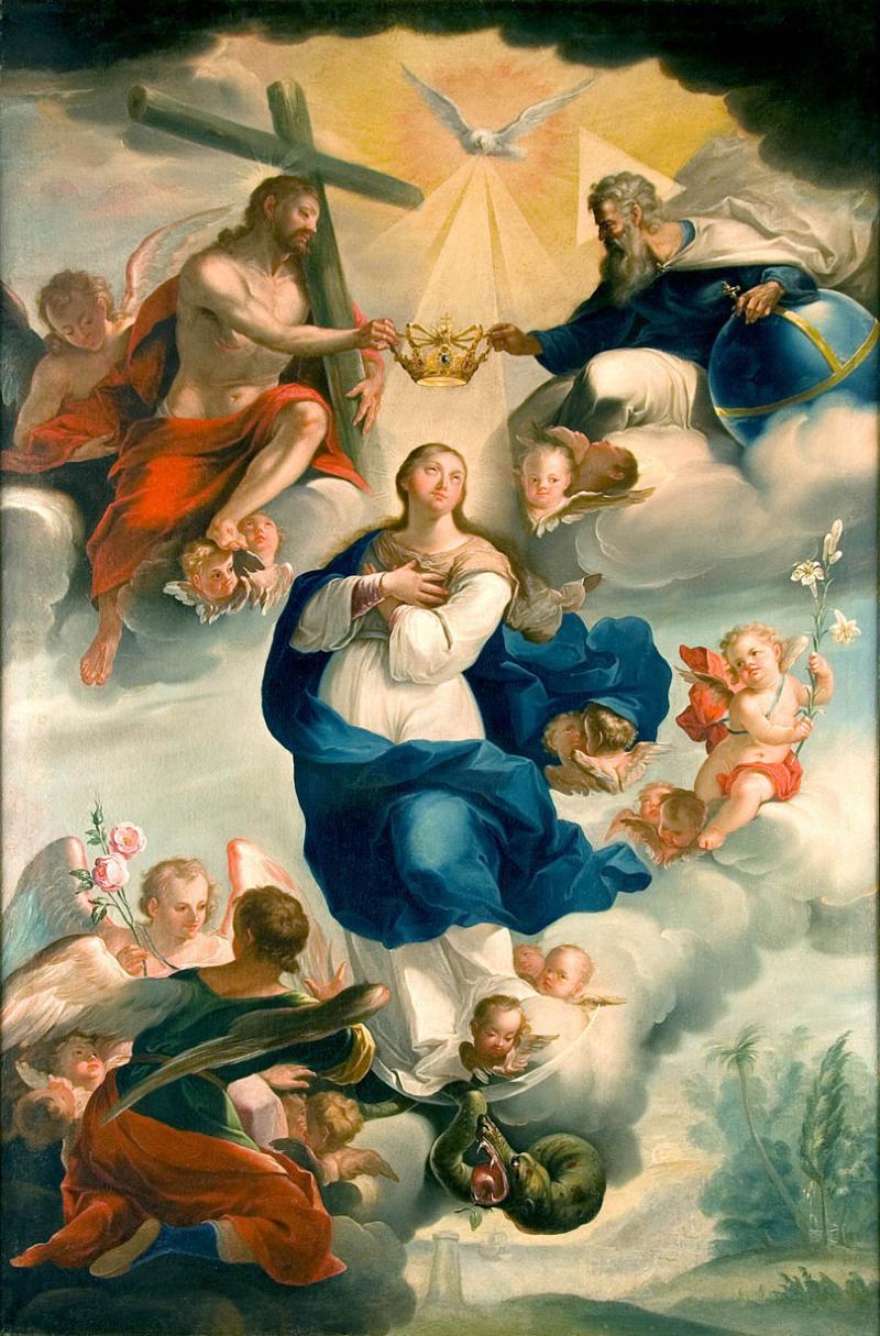 coronacion de la santisima virgen maria krouillong comunion en la mano 2
