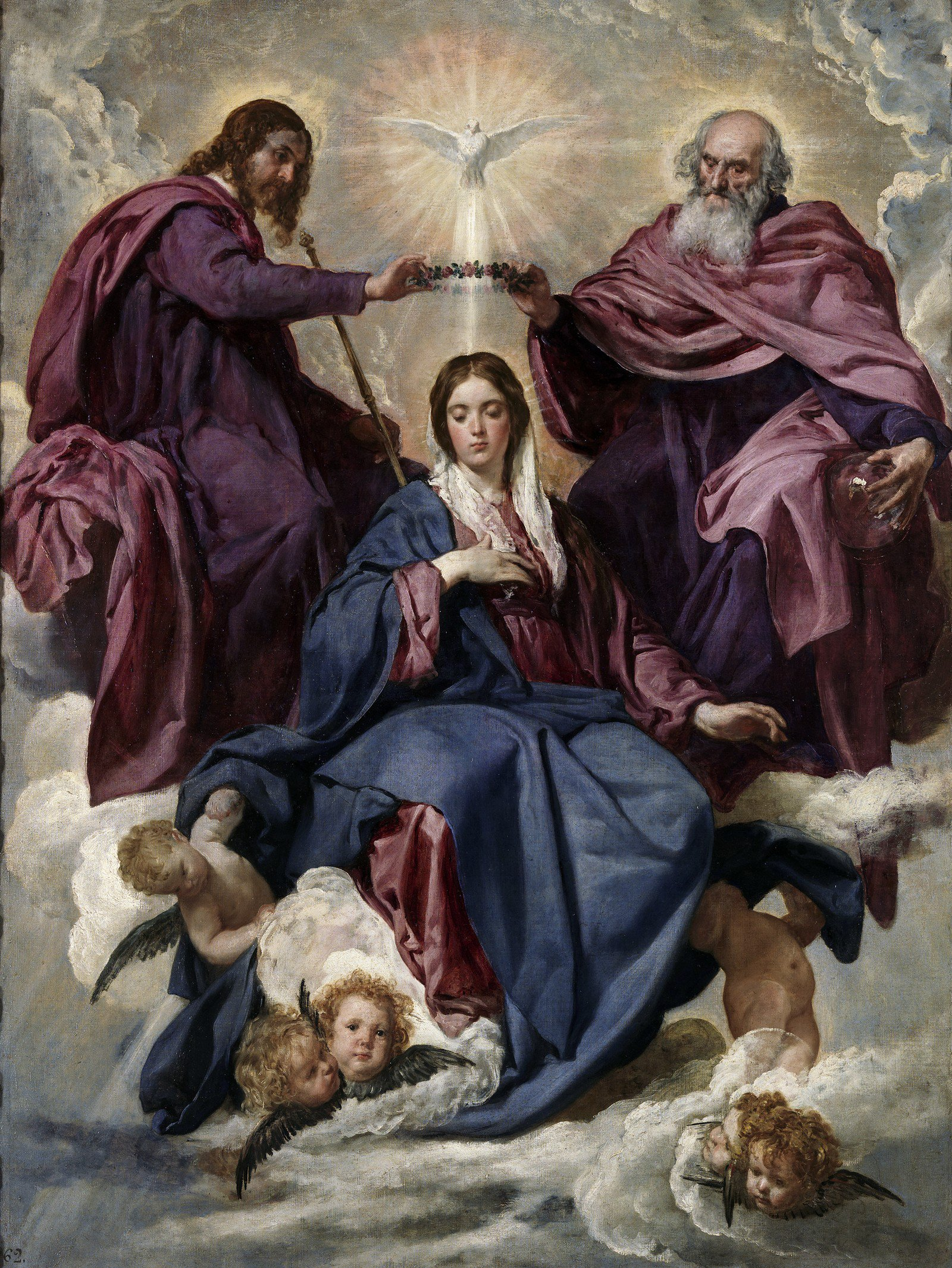 coronacion de la santisima virgen maria krouillong comunion en la mano