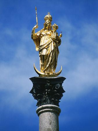 inmaculada concepcion columna de maria mariensaeule munich krouillong sacrilega comunion en la mano