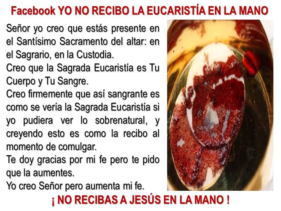 milagros eucaristicos krouillong comunion en la mano