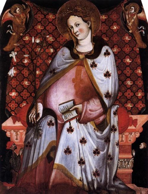 virgen maria embarazada krouillong comunion en la mano sacrilegio