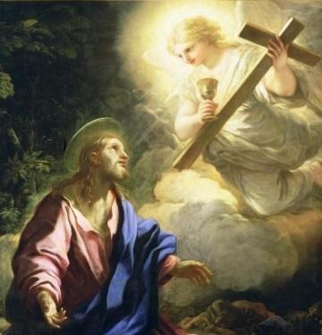 Jesus en el Huerto de Getsemani krouillong comunion en la mano sacrilegio 3