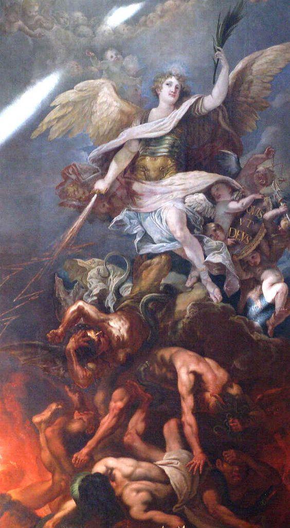 San Miguel Arcangel krouillong comunion en la mano es sacrilegio 15