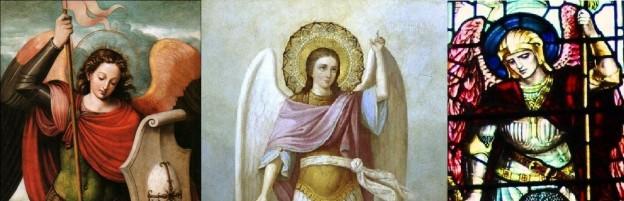 San Miguel Arcangel krouillong comunion en la mano es sacrilegio banner