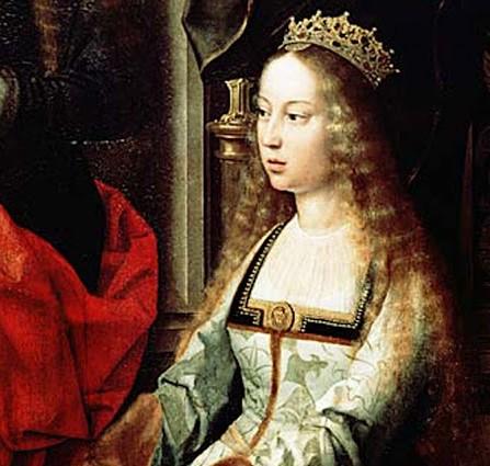 Isabel La Catolica krouillong comunion en la mano es sacrilegio