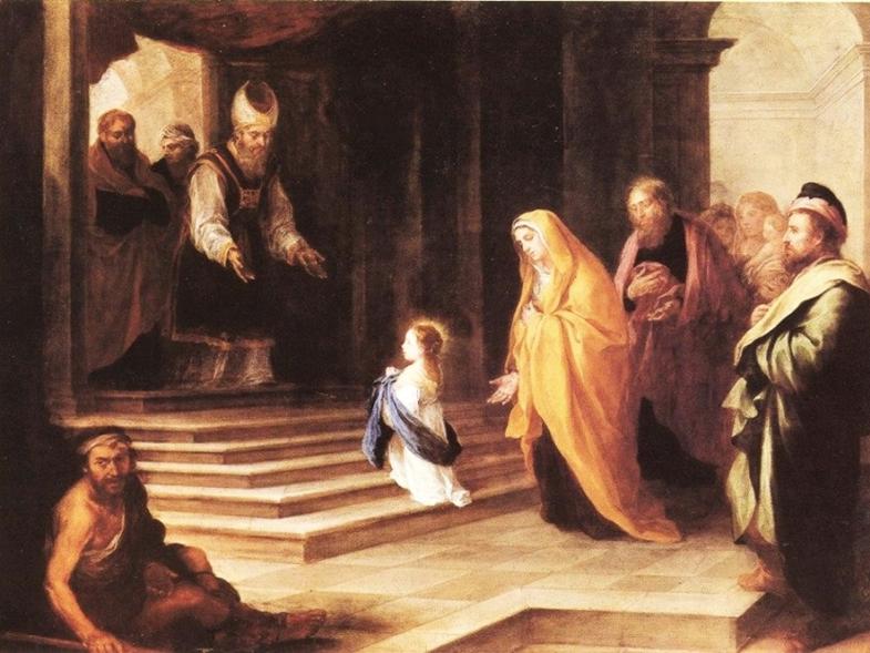 Presentacion en el Templo Niña Maria krouillong comunion en la mano