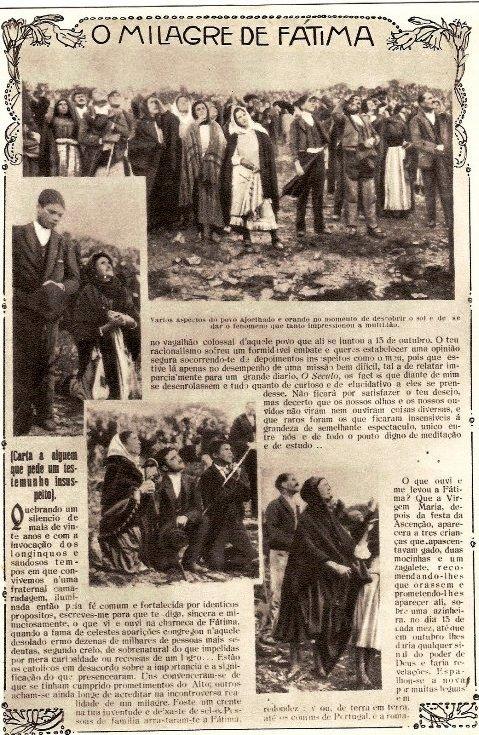 milagro del sol en fatima 1917 krouillng comunion en la mano es sacrilegio