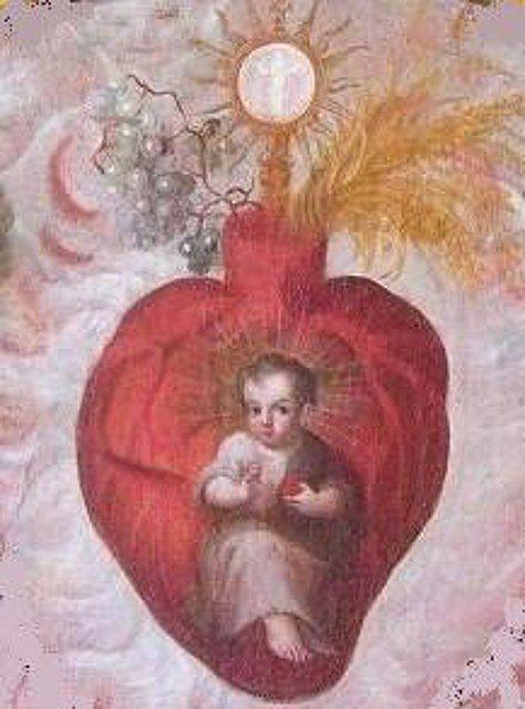 niño jesus eucaristia krouillong comunion en la mano es sacrilegio