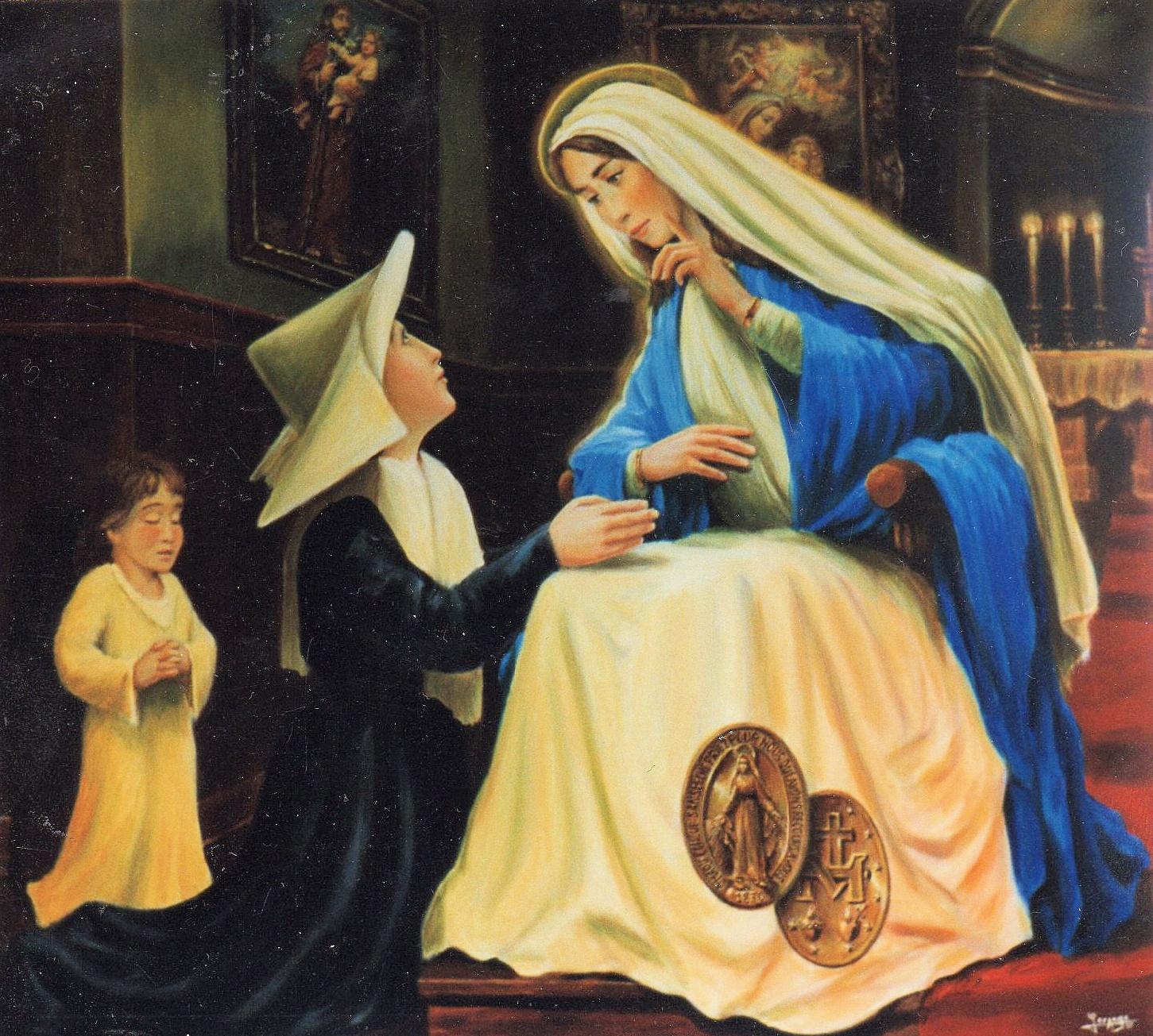 nuestra señora de la medalla milagrosa krouillong comunion en la mano es sacrilegio (2)