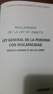 RGLTO LEY 29973