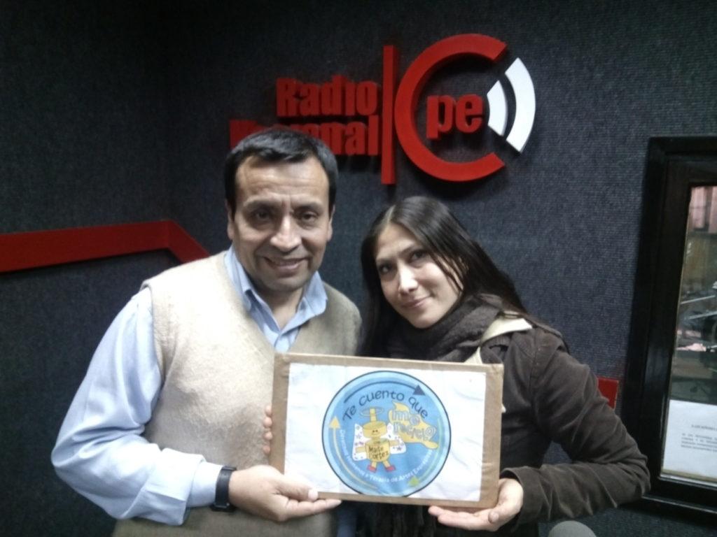 Maite Cortez Cuenta Cuentos en Radio Nacional_Septiembre2016