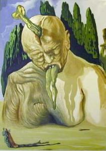 Ilustración de la Divina Comedia, de Dante Alighieri.
