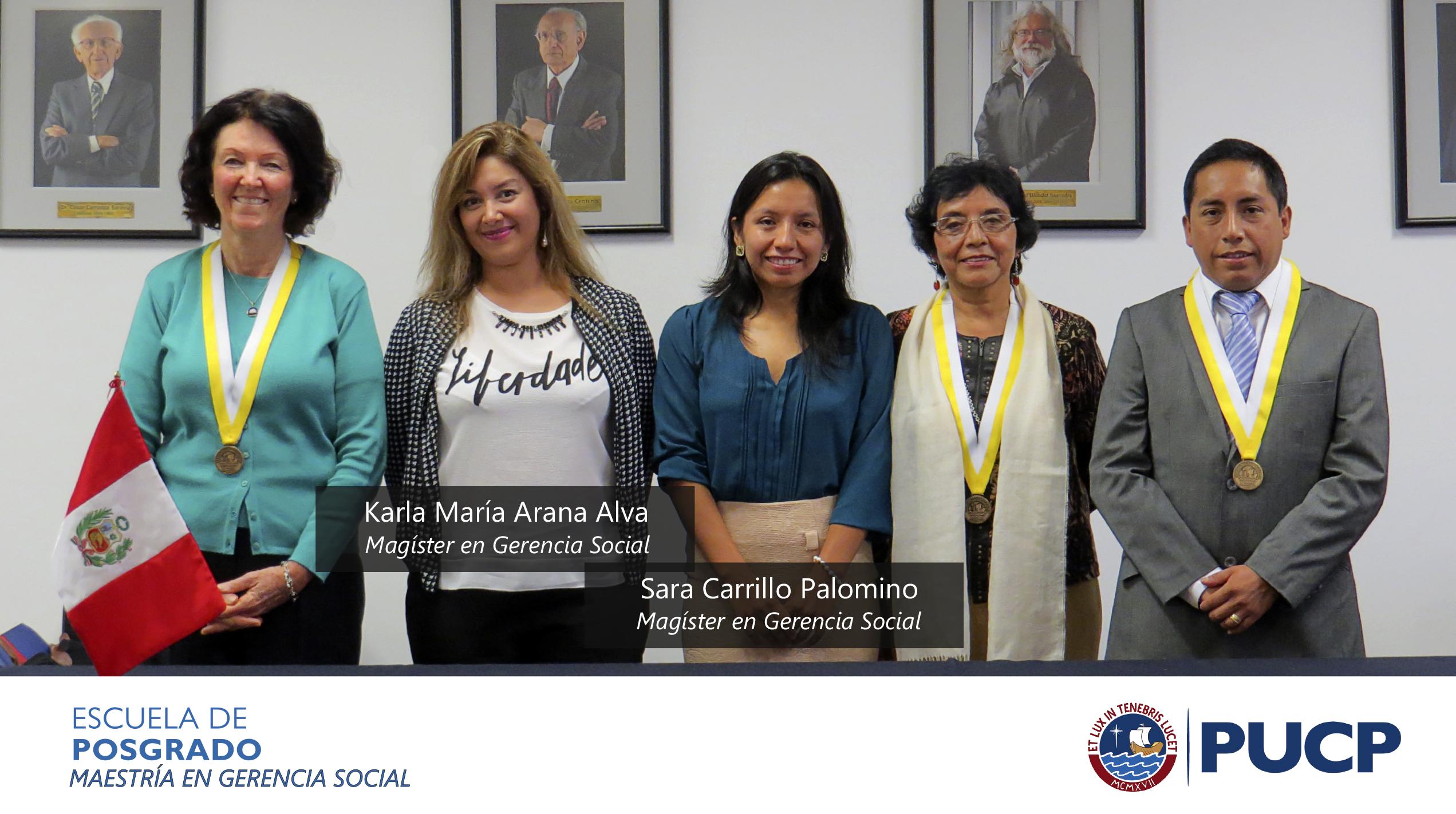 Sustentación Karla María Arana Alva y Sara Carrillo Palomino