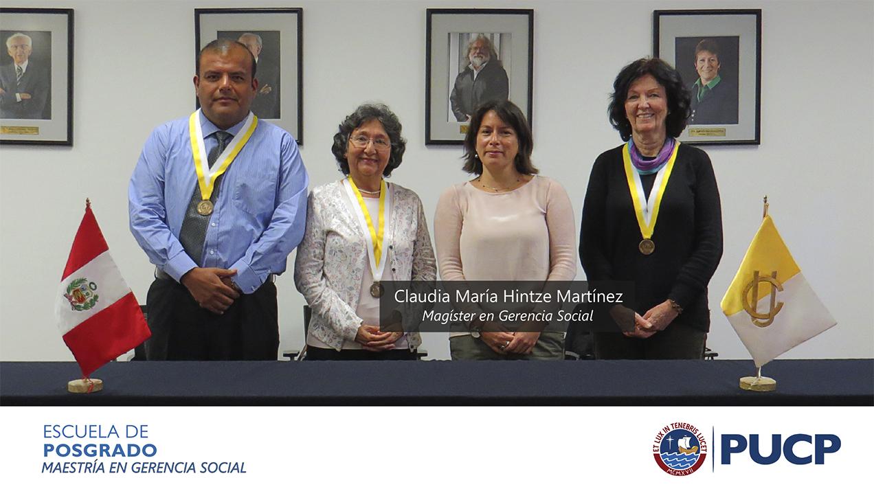 Sustentación Claudia María Hintze Martínez
