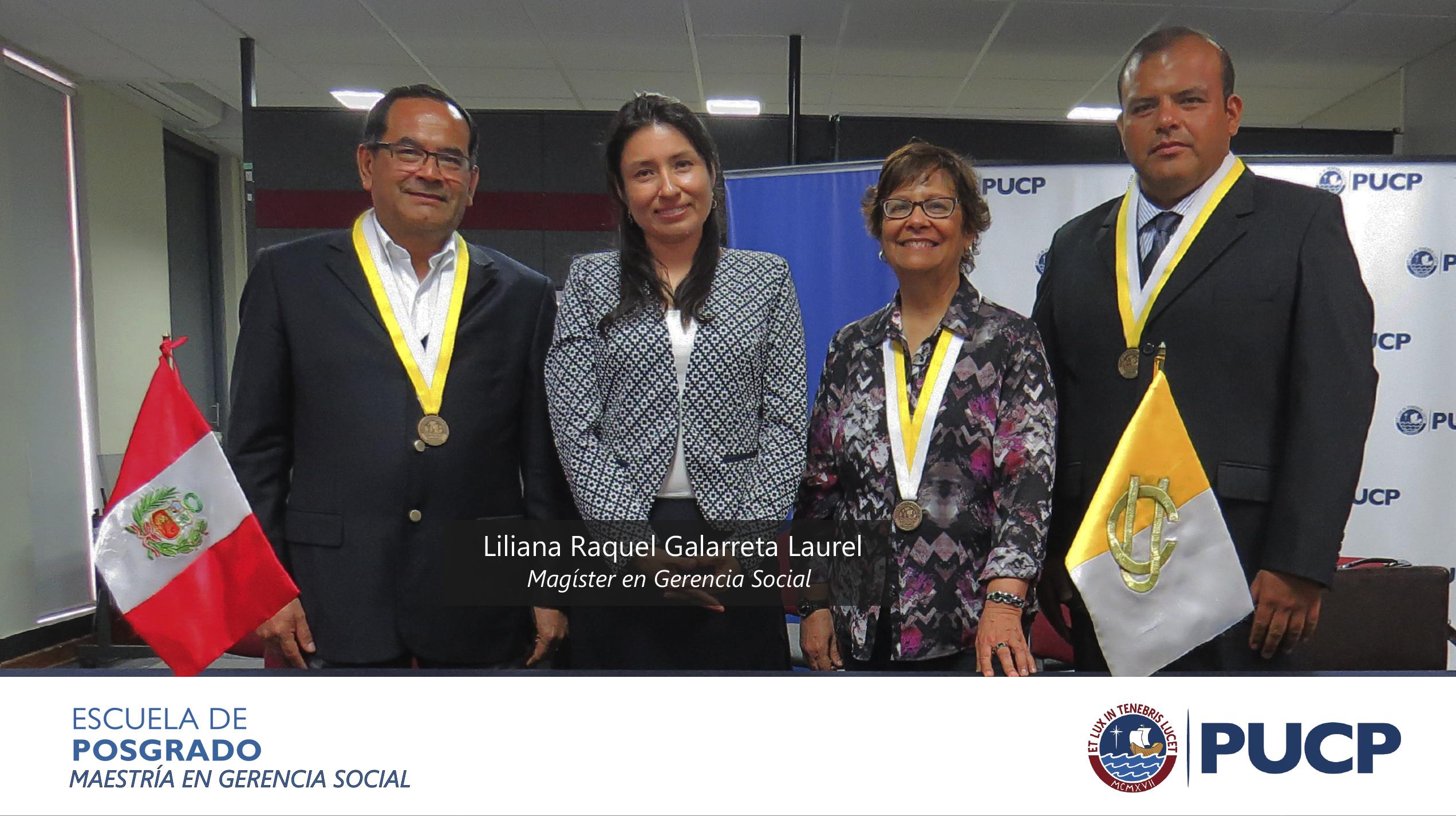 Sustentación de Liliana Raquel Galarreta Laurel
