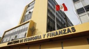 FOTOS DE LA FACHADA DEL MINISTERIO DE ECONOMIA Y FINANZAS.