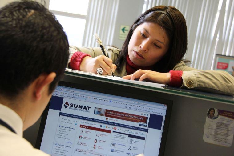 Sunat: Recaudación tributaria se incrementó 7.7% en noviembre