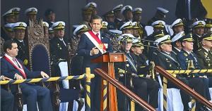 Gobierno respeta escrupulosamente a nuestros institutos castrenses, recalca en ceremonia por la Marina. Imagen: elperuano