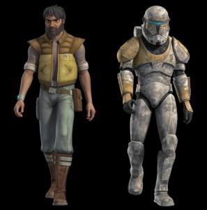 El comando clon Gregor también regresa en Star Wars Rebels
