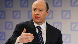 ohn Cryan, Co-CEO of Deutsche Bank