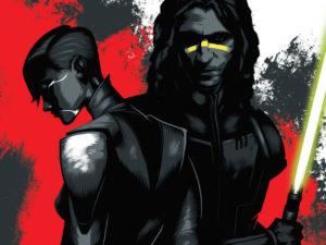 """Star Wars: """"Dark Disciple"""", junto a Quinlan Vos, este libro marcará el destino final de Asajj Ventress."""