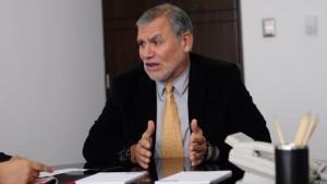 José Ugaz aseguró que en el CNM todos tiene algún tipo de cuestionamiento. (Anthony Niño de Guzmán). Peru21