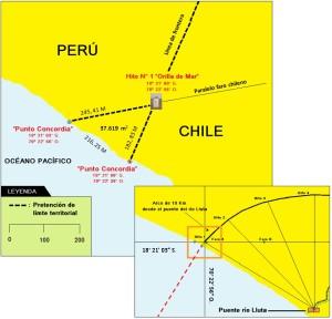 Imagen: http://www.eldinamo.cl/pais/2014/02/24/peru-respondio-a-nota-de-protesta-insiste-que-frontera-terrestre-se-inicia-en-el-punto-concordia/