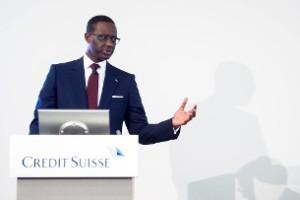Tidjane Thiam, nuevo consejero delegado del Credit Suisse, de nacionalidad francesa y marfileña, es un ejemplo de la creciente internacionalización de la élite empresarial. (Keystone)