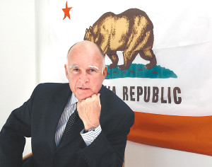 Governor Jerry Brown - Photo by Will Davison / The Signal