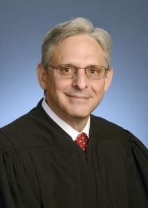 Chief Judge Merrick Garland in 2013. U.S. Court of Appeals District of Columbia Circuit via AP