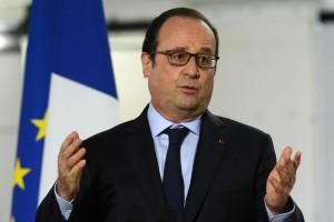 Francois Hollande, presidente de Francia. Imagen en elpais.es