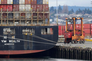 Washington sends about one-fifth of its exports to China from the Port of Seattle. (AP)
