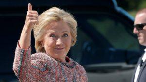 Hillary Clinton regresó al trabajo este jueves.