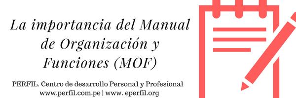 La importancia del manual de organizaci n y funciones for Manual de funciones y procedimientos de un restaurante