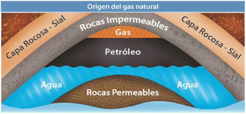Resultado de imagen de La formación de los yacimientos de petróleo, y de las minas de carbón
