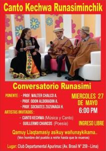 conversatorio dia del quechua 2015