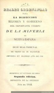 Reales Ordenanzas de Nueva España