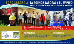 Foro Agenda Laboral Elecciones