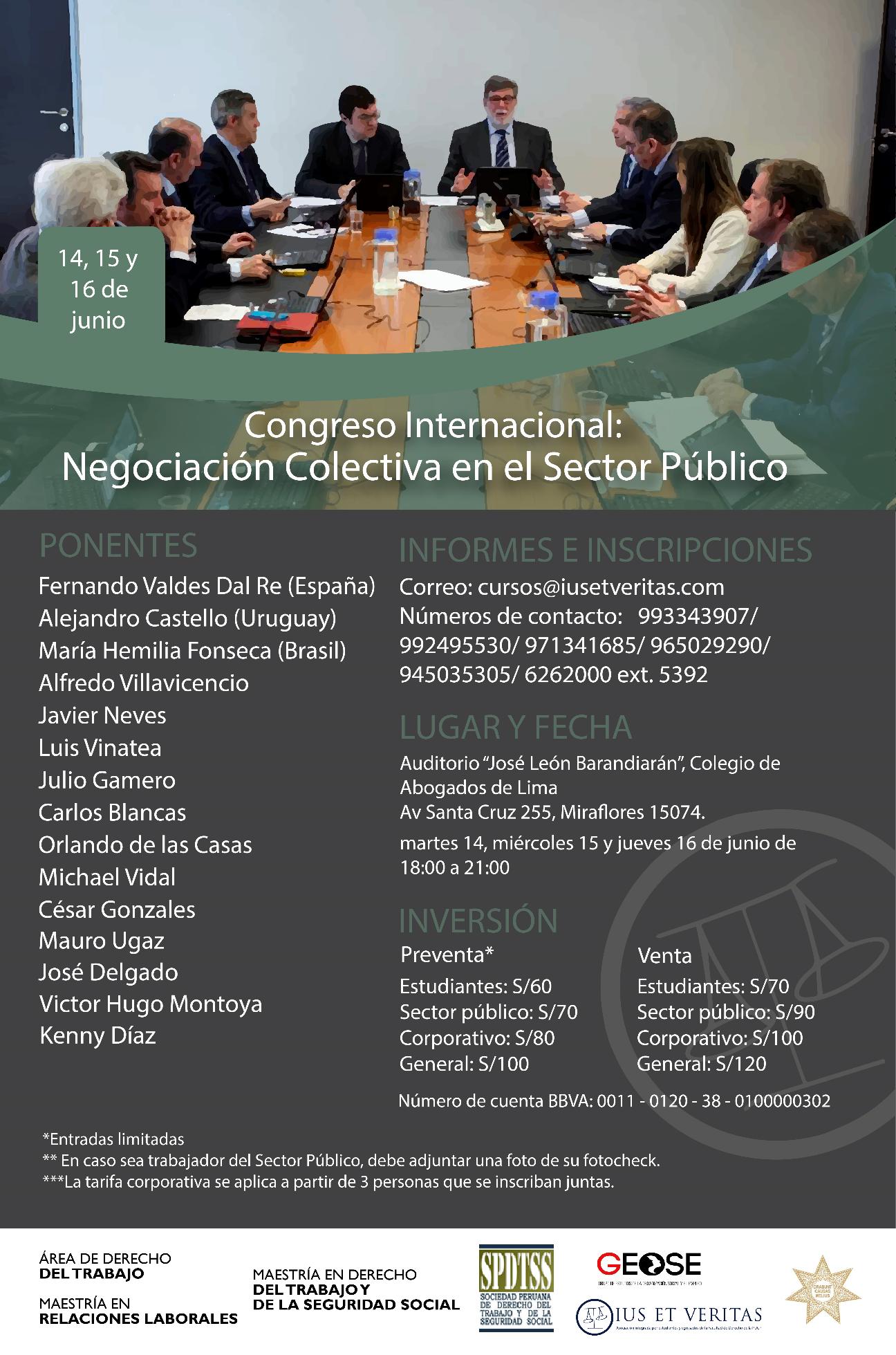 Congreso Internacional NCSP