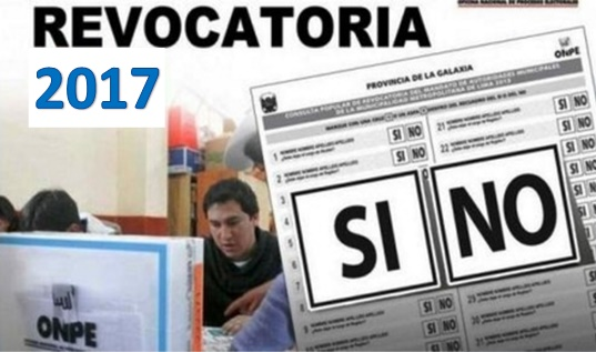 Revocatoria 2017