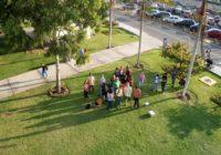 Estudiantes de Geografía ensayan el uso y manejo de drones