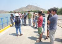 Visita a la planta de tratamiento de agua potable La Atarjea