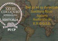 Convocatoria: XXVIII Coloquio Internacional de Estudiantes de Historia
