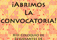 Convocatoria: XIII Coloquio de Estudiantes de Arqueología