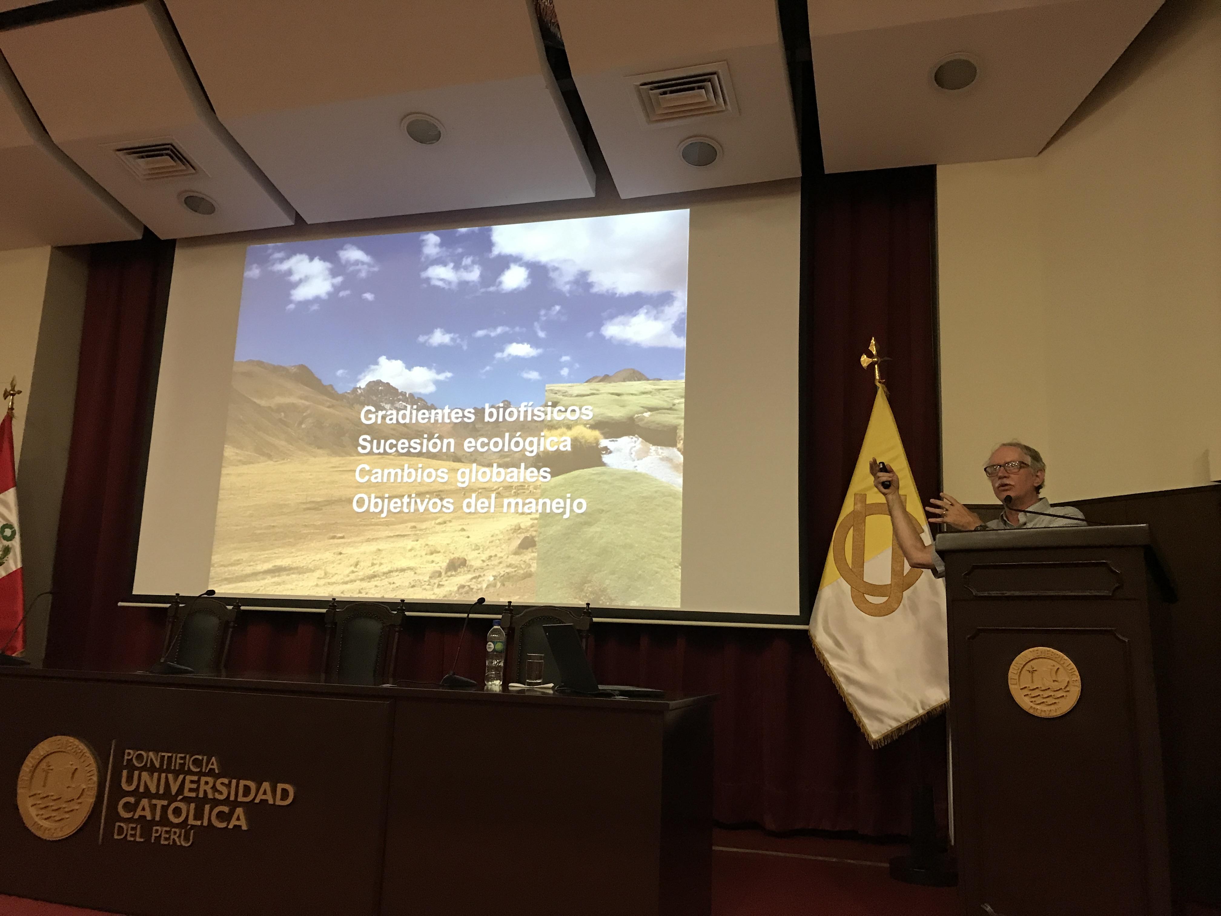 """Seminario especial: """"Adaptaciones socioecológicas en los paisajes posglaciares"""" [fotos]"""